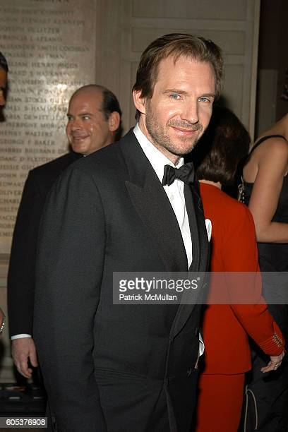 Ralph Fiennes attends The Metropolitan Museum of Art Costume Institute Spring 2006 Benefit Gala celebrating the exhibition AngloMania Tradition and...