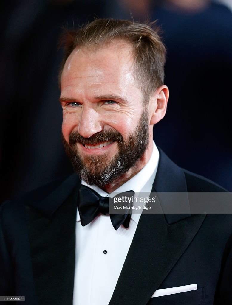 Ralph Fiennes attends the Royal Film Performance of 'Spectre' at The Royal Albert Hall on October 26, 2015 in London, England.