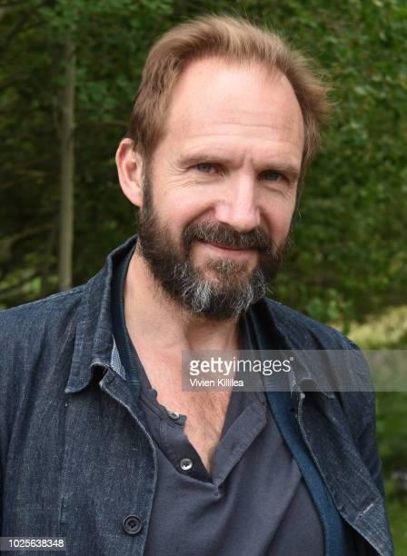 Ralph Fiennes attends the Telluride Film Festival 2018 on August 31 2018 in Telluride Colorado