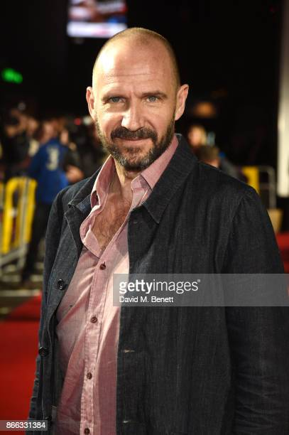 Ralph Fiennes attends the UK Premiere of 'Grace Jones Bloodlight And Bami' at the BFI Southbank on October 25 2017 in London England