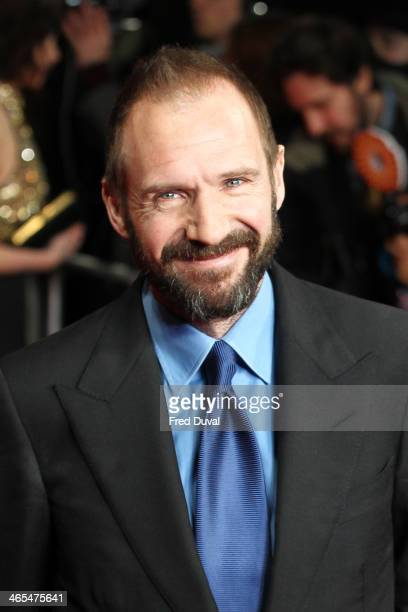 Ralph Fiennes attends the UK Premiere of 'The Invisible Woman' at ODEON Kensington on January 27 2014 in London England