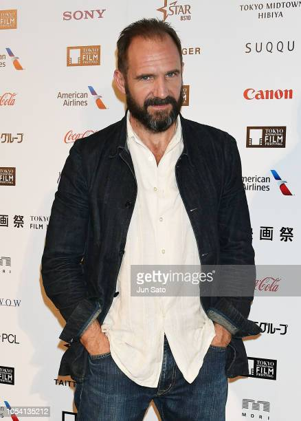 Ralph Fiennes attends the White Crow press conference at Roppongi Hills on October 27 2018 in Tokyo Japan