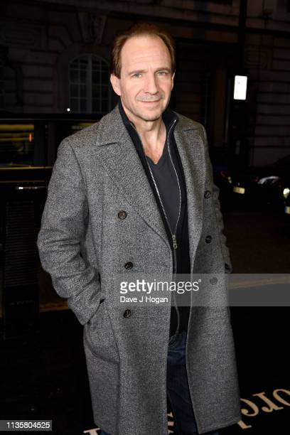 Ralph Fiennes attends The White Crow special screening in partnership with The Dorchester at Curzon Cinema Mayfair on March 14 2019 in London England