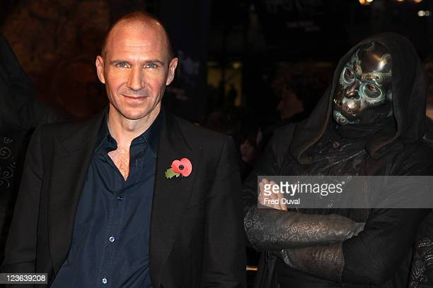 Ralph Fiennes attends the world premiere of Harry Potter and The Deathly Hallows Part 1 at Odeon Leicester Square on November 11 2010 in London...
