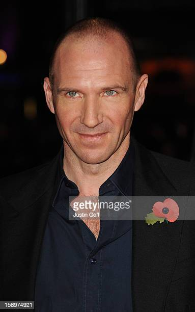 Ralph Fiennes Attends The World Premiere Of Harry Potter And The Deathly Hallows Part 1 Held At The Odeon Leicester Square On November 11 2010 In...