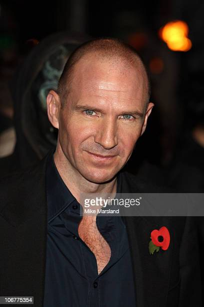 Ralph Fiennes attends the world premiere of Harry Potter and The Deathly Hallows at Odeon Leicester Square on November 11 2010 in London England