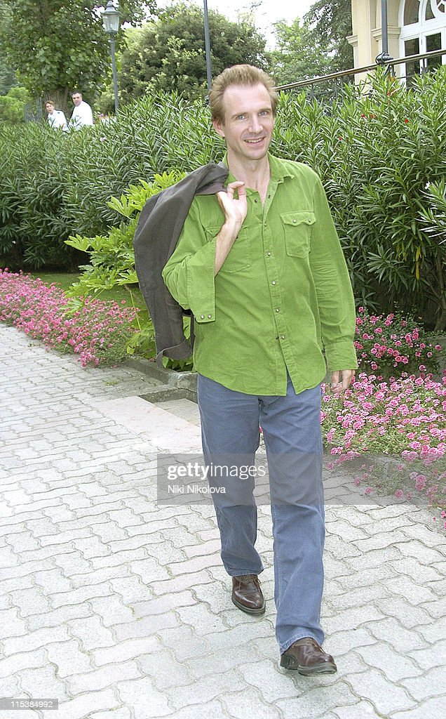 Ralph Fiennes during 2005 Venice Film Festival - Celebrity Sightings Outside the Des Bains Hotel - September 8, 2005 at Des Bains Hotel in Venice Lido, Italy.