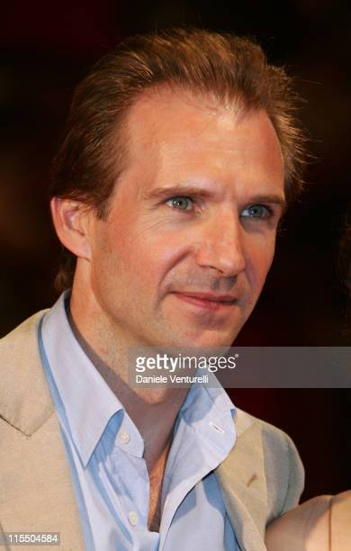 Ralph Fiennes during 2005 Venice Film Festival 'The Constant Gardener' Premiere Arrivals in Venice Italy