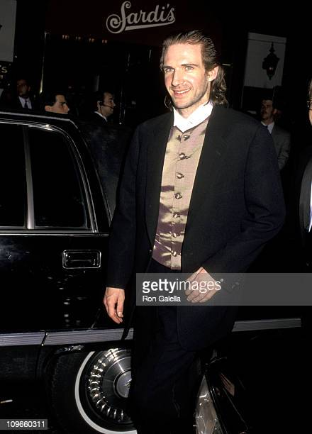 Ralph Fiennes during 49th Annual Tony Awards - After Parties at Sardi's Restaurant & Marriott Marquis in New York City, New York, United States.