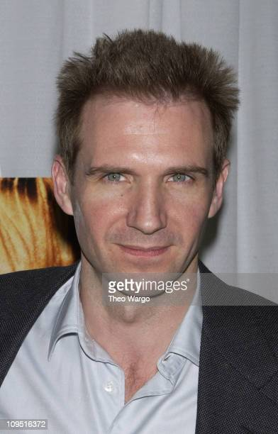 Ralph Fiennes during 'Enough' New York City Premiere After Party at Roseland in New York City New York United States