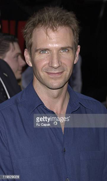 Ralph Fiennes during 'K19 The Widowmaker ' Premiere New York at Ziegfeld Theatre in New York City New York United States