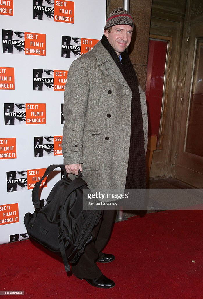 Ralph Fiennes during Peter Gabriel and Angelina Jolie Host Focus for Change: The First Annual Gala Dinner and Concert to Benefit 'Witness' at The Supper Club in New York City, New York, United States.