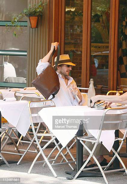 Ralph Fiennes during Ralph Fiennes Sighting in New York May 30 2006 at DaSilvano Restaurant in New York City United States