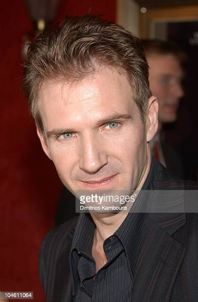 Ralph Fiennes during 'Red Dragon' New York City Premiere at Ziegfeld Theatre in New York City New York United States