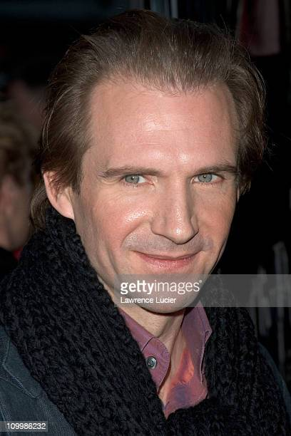 Ralph Fiennes during Warner Bros' Harry Potter and the Goblet of Fire New York City Premiere Arrivals at Ziegfeld Theater in New York City New York...