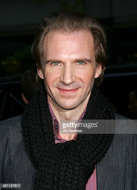 Ralph Fiennes during Warner Bros' Harry Potter and the Goblet of Fire New York City Premiere Outside Arrivals at Ziegfeld Theater in New York City...