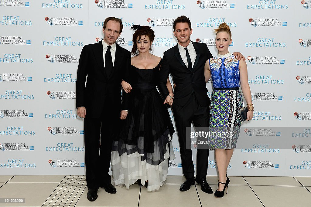 56th BFI London Film Festival: Great Expectations - Closing Night Gala : News Photo