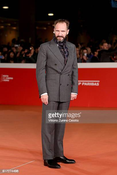 Ralph Fiennes walks a red carpet for 'The English Patient - Il Paziente Inglese' during the 11th Rome Film Festival at Auditorium Parco Della Musica...