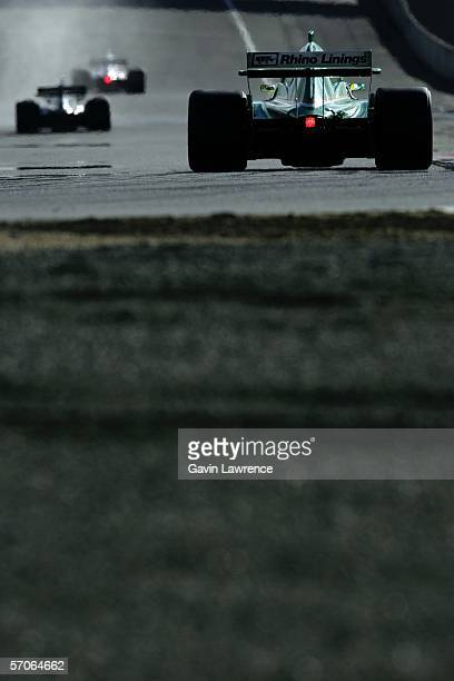 Ralph Firman driver for Ireland chases the leaders during the A1 Grand Prix of Nations California USA at the Mazda Raceway Laguna Seca March 12 2006...