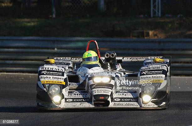 Ralph Firman of Great Britain and the Racing For Holland Dome Judd team drives during the Le Mans 24 Hour race at the Circuit des 24 Hours du Mans on...