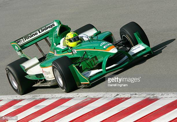 Ralph Firman of Ireland during practice for the A1 Grand Prix of Nations California USA at the Mazda Raceway Laguna Seca on March 11 2006 in Monterey...
