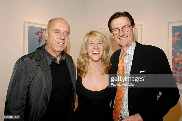 Ralph Gibson Sally Gall and Bob Cochran attend SALLY GALL'S Opening of BLOSSOMS at Julie Saul Gallery on March 29 2007 in New York City
