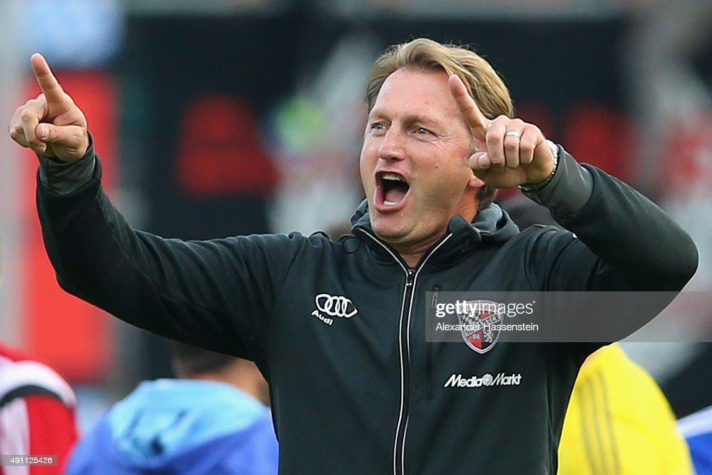 FC Ingolstadt v Eintracht Frankfurt - Bundesliga : Fotografía de noticias