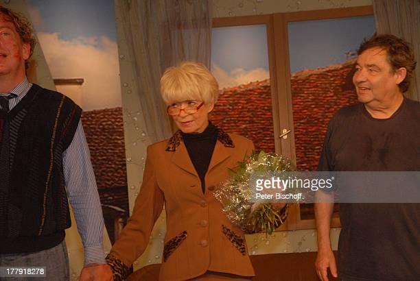 Ralph HB Eckstein Ingrid Steeger Michael Oenicke Premiere Theaterstück 'Jackpot' 'Theaterschiff' Bremen Deutschland Europa Auftritt Bühne Finale...