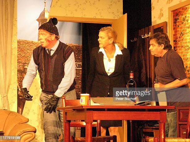 Ralph HB Eckstein Susanne Habenicht Michael Oenicke Premiere Theaterstück 'Jackpot' 'Theaterschiff' Bremen Deutschland Europa Auftritt Bühne...