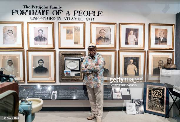 Ralph Hunter founder of African American Heritage Museum of Southern New Jersey is part of the new Arts District on June 29 2018 in Atlantic City New...