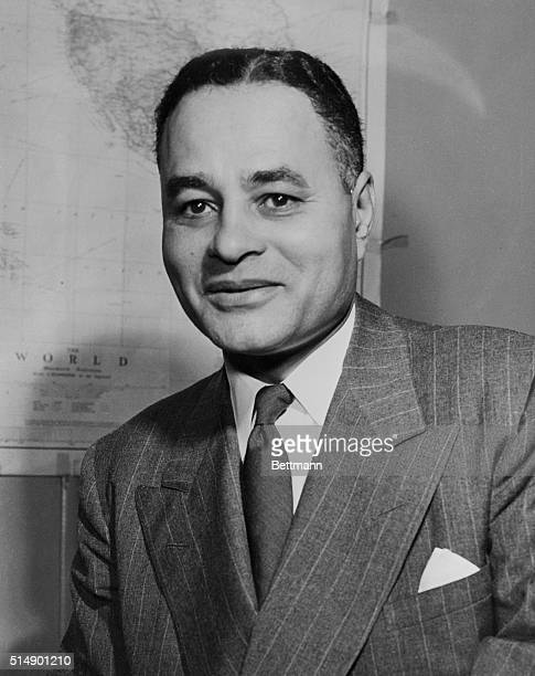 Ralph J. Bunche, undersecretary of the United Nations and Nobel Prize laureate, whose election as a member and trustee of the Rockefeller Foundation...