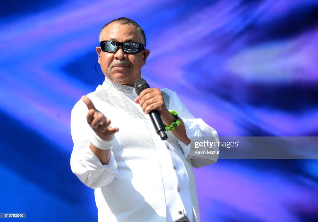 Ralph Johnson of Earth Wind and Fire performs onstage during The Classic West at Dodger Stadium on July 16, 2017 in Los Angeles, California.