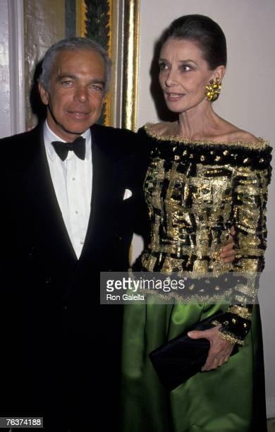 Ralph Lauren and Audrey Hepburn