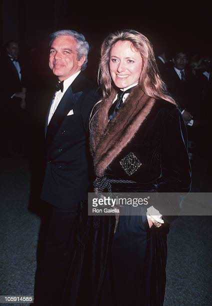Ralph Lauren and Ricky LowBeer during Diana Vreeland's Annual Costume Exhibit 'Man and the Horse' December 3 1984 at Metropolitan Museum of Art in...