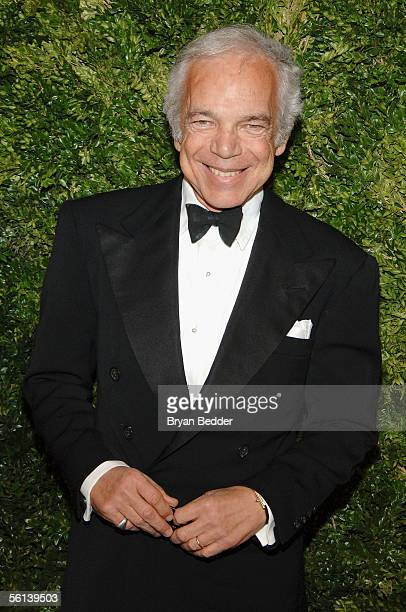 """Ralph Lauren arrives at the """"7th On Sale Online"""" Gala November 10, 2005 in New York City."""