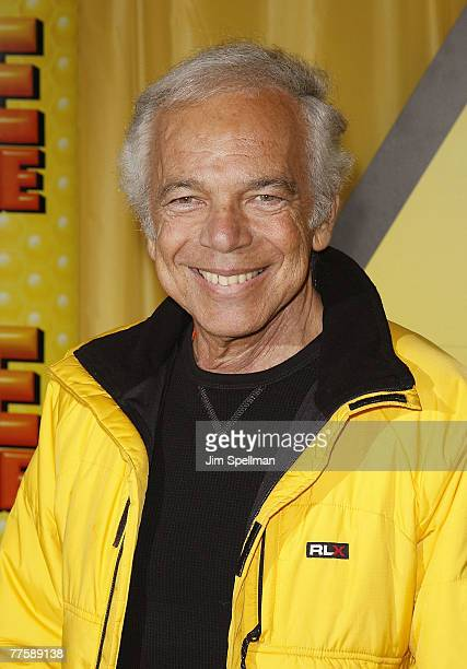 Ralph Lauren arrives at the 'Bee Movie' at the AMC Loews Lincoln Square13 on October 25 2007 in New York City