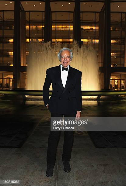 Ralph Lauren at an evening hosted by Oprah Winfrey and presented at Lincoln Center on October 24 2011 in New York City