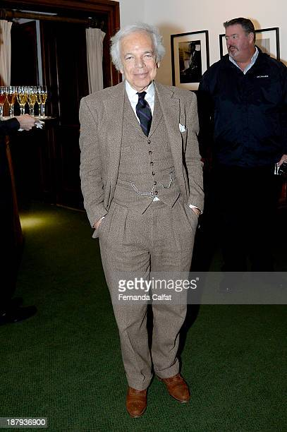 Ralph Lauren at Fashion Icons with Fern Mallis at the 92nd Street Y on November 13 2013 in New York City