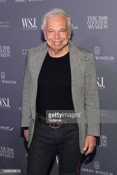 Ralph Lauren attends the 2018 WSJ Magazine Innovator Awards at Museum of Modern Art on November 7 2018 in New York City