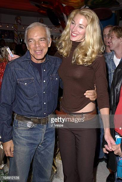 Ralph Lauren Elaine Irwin during Dylan's Candy Bar Opening at Dylan's Candy Bar in New York City New York United States