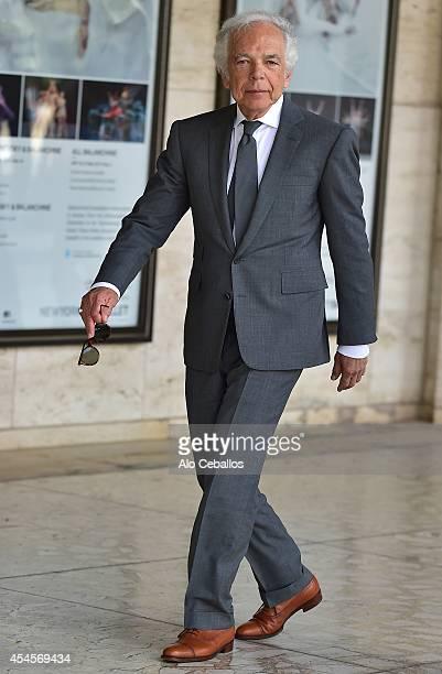 Ralph Lauren is seen in Midtown on September 3 2014 in New York City