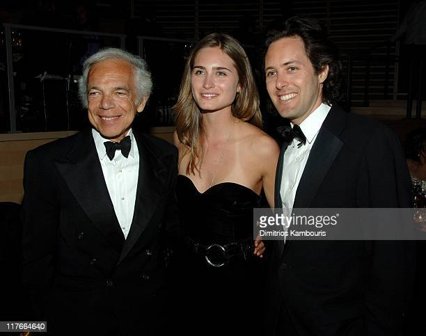 Ralph Lauren Lauren Bush and David Lauren during Time Magazine's 100 Most Influential People 2006 Inside at Jazz at Lincoln Center at Time Warner...