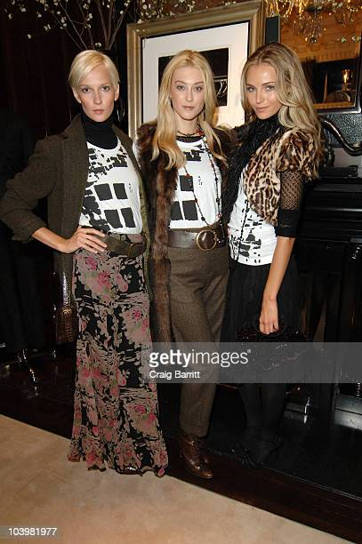 Ralph Lauren models at the Ralph Lauren celebration of Fashion's Night Out at Ralph Lauren Mansion on September 10, 2010 in New York City.