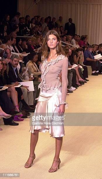 Ralph Lauren Womens Spring 2003 Collection during Mercedes-Benz Fashion Week Spring Collections 2003 - Ralph Lauren Show - Runway at Cooper Hewitt...