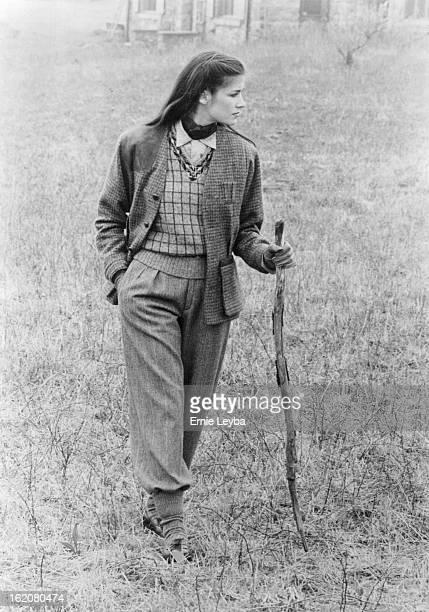 JUL 27 1981 JUL 28 1981 Ralph Lauren's check camp shirt shooting jacket and sweater vest