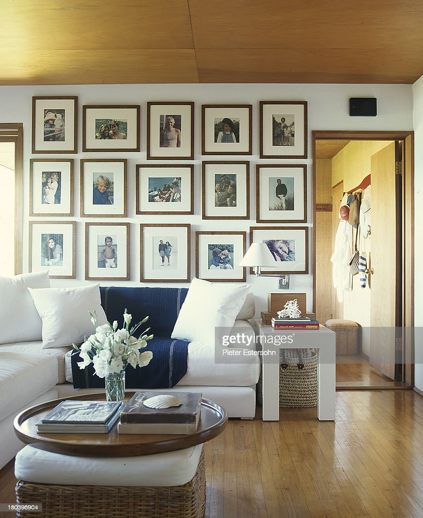 Ralph Laurenu0027s Home Is Photographed For Elle Decor In 2005 In Montauk, New  York.