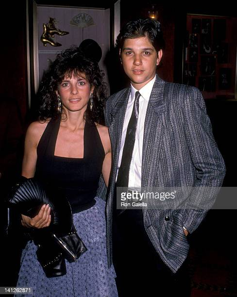 Ralph Macchio and Phyllis Fierro at the NY Premiere of 'Great Balls of Fire' Ziegfeld Theater New York City