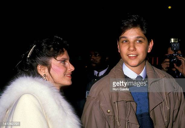 Ralph Macchio and Phyllis Fierro at the Premiere of 'A New Life' Paramount Theater New York City