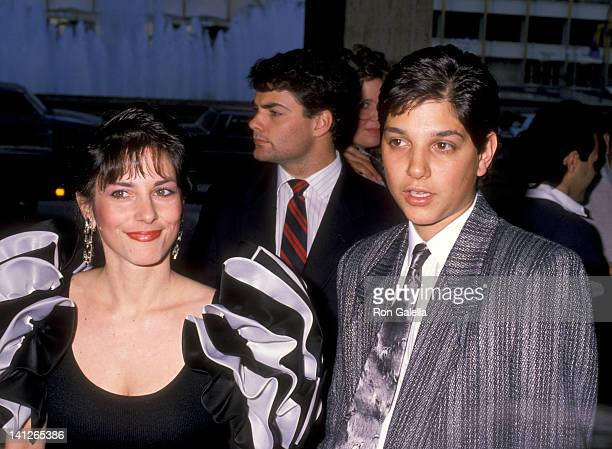 Ralph Macchio and Phyllis Fierro at the Premiere of 'Lawrence of Arabia' Restored Version Century Plaza Cinema Century City