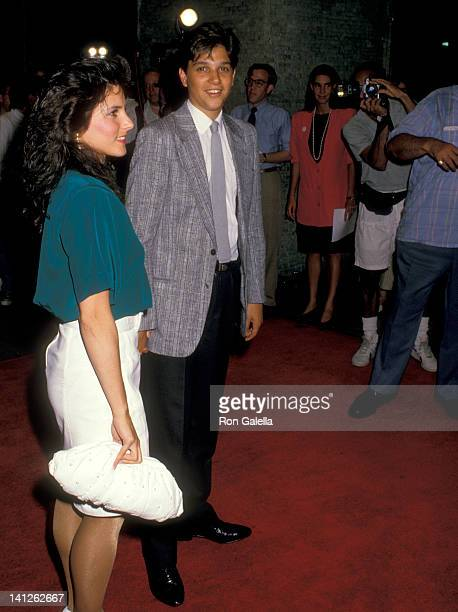 Ralph Macchio and Phyllis Fierro at the Premiere of 'Midnight Run' Sutton Theater New York City